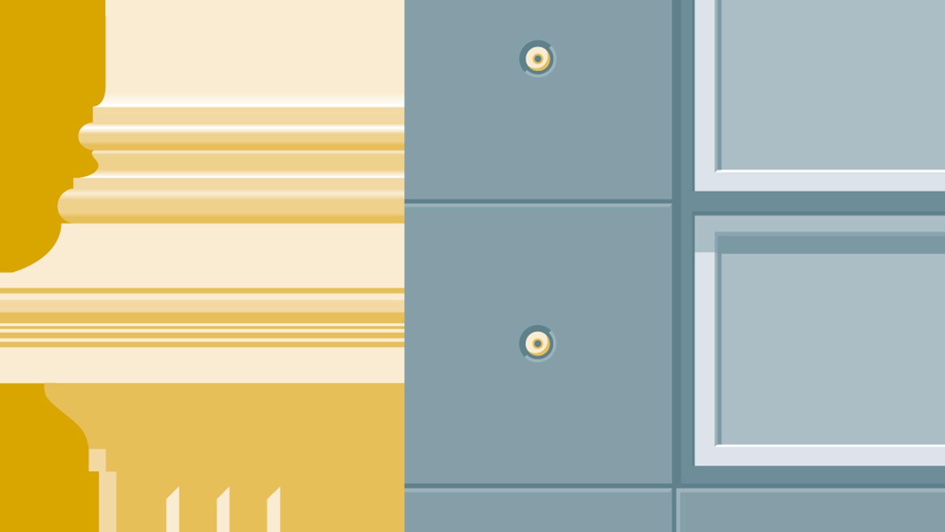 Ausschnitt aus einem Plakat der Reihe »Berliner Architekturgespräche«